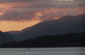 Gourock inverclyde scotland uk sunset