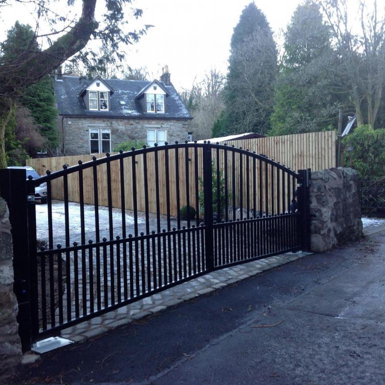 Automatic Driveway Gates Greenock