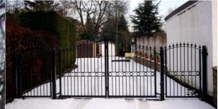Metal Driveway Gate Thorntonhall