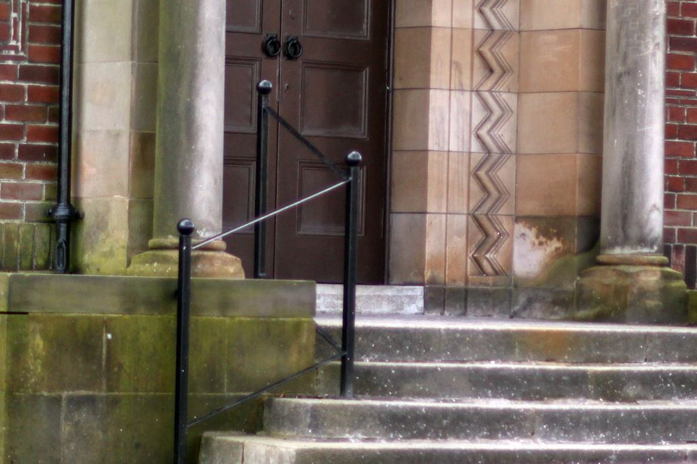 wrought iron handrail style